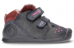 BIOMECÂNICA BABY GIRL CAT ANKLE BOOTS AZUL