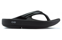 OOFOS OOLFAS CHANCLAS BLACK