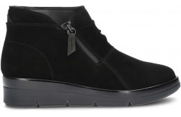 CLARKS SHAYLIN UP ANKLE BOOTS BLACK